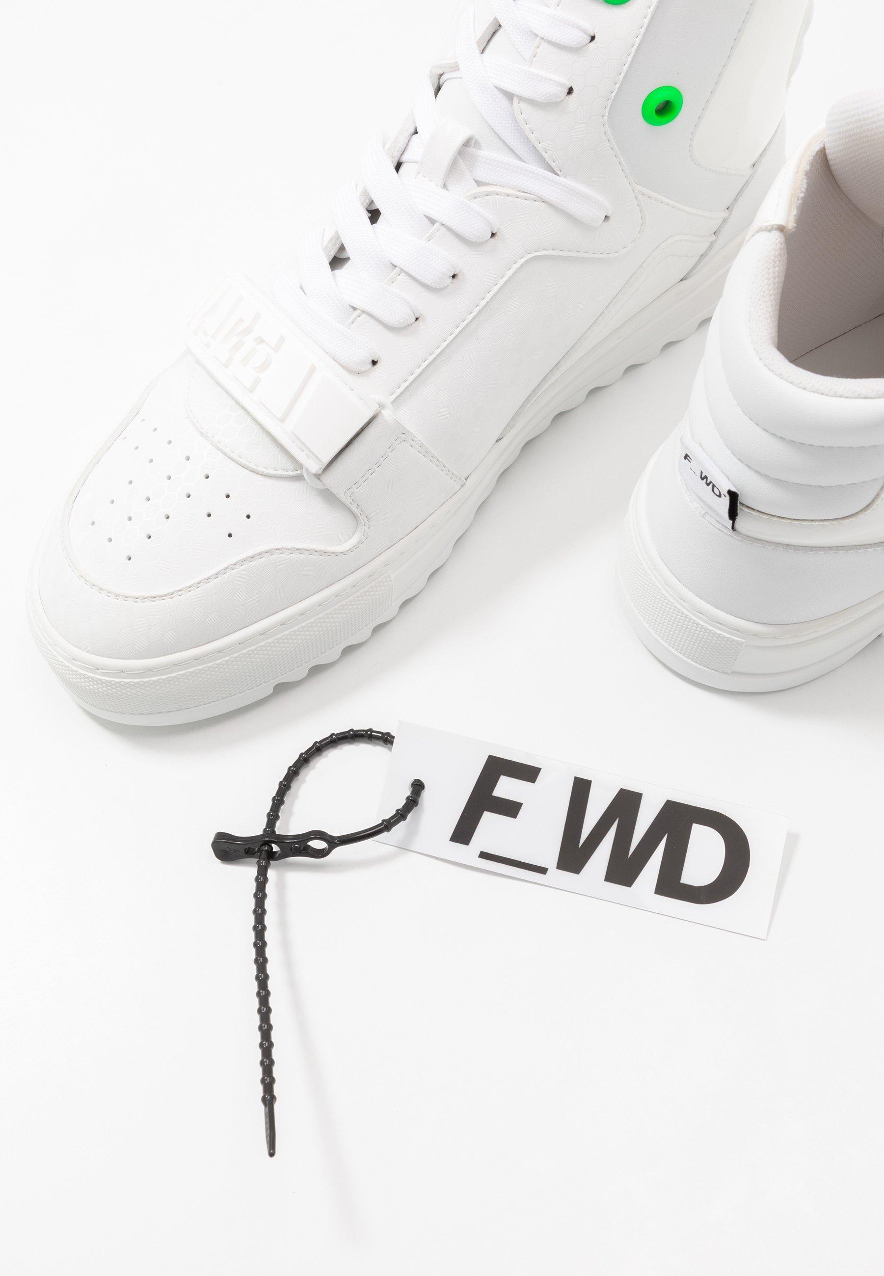 Höga sneakers exagon whiteeconappa white