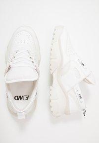 F_WD - Trainers - gommato white/cristallo - 1