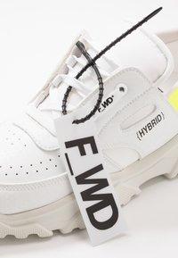F_WD - Trainers - exagon white/cristal white/pro white - 5