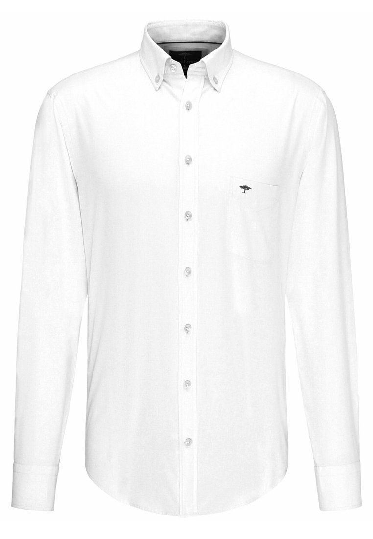 Fynch-Hatton LIGHT STRUCTURE - Shirt - white