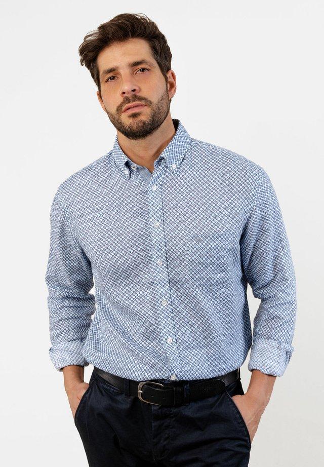 CLASSIC  - Shirt - blue print