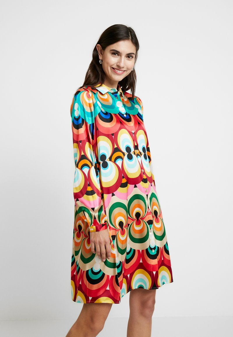 Grace - Vestido camisero - multicolor