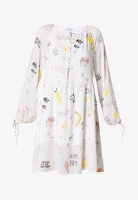 Grace - DRESS ALLOVER FRUITS - Korte jurk - creme - 4