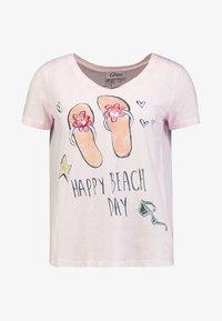 Grace - FLIPFLOPS - Camiseta estampada - pale rose - 5