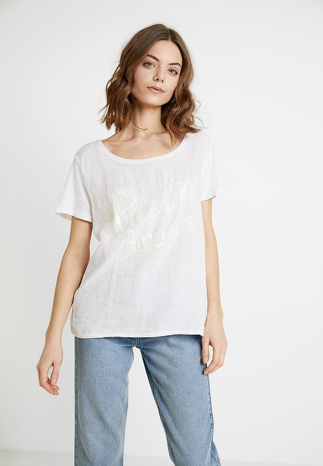 PALM BEACH - Bluse - white