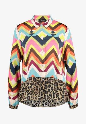 ZACKEN UND LEO - Button-down blouse - multicolor