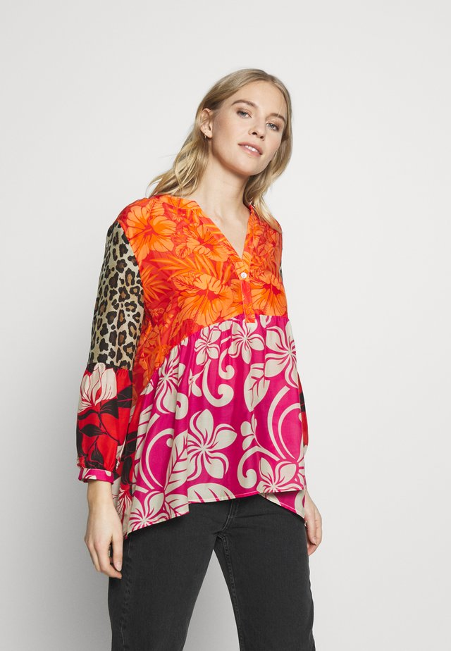 MIX PATTERN - Blouse - multi-coloured
