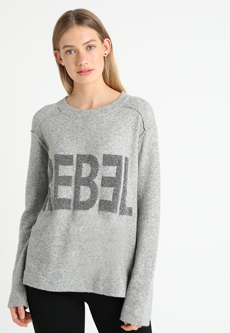 Grace - PULLI REBEL - Jumper - lightgrey