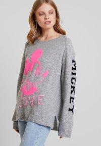 Grace - OTIS MICKEY LOVE - Sweter - grey - 0