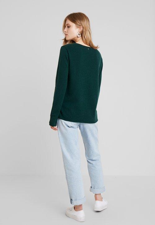 Grace PARIS - Sweter - darkgreen Odzież Damska SCMM-AB9 85% ZNIŻKI