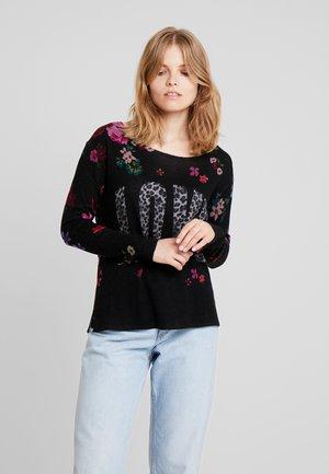 BLUMEN LEO LOVE - Sweter - black