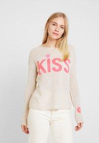 Grace - KISS - Jumper - sand - 0