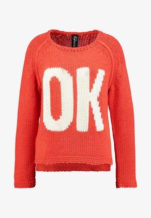 OK - Maglione - orange