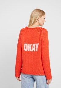 Grace - OK - Jumper - orange - 2