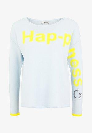 HAPPINESS - Jumper - iceblue