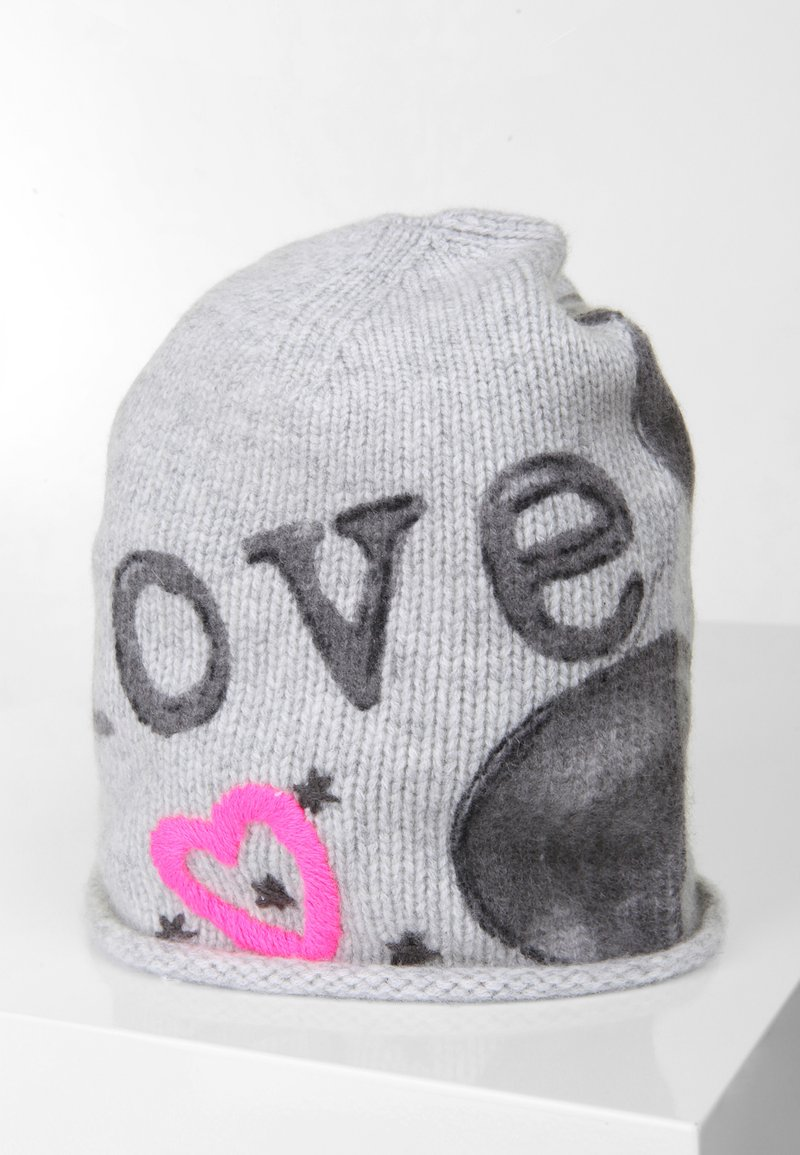 Grace - MICKEY LOVE - Beanie - ligh tgrey