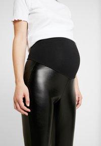 GAP Maternity - FAUX LEGGING - Leggings - true black - 5