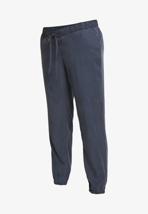 PULL ON JOGGER MATERNITY - Trousers - vintage navy