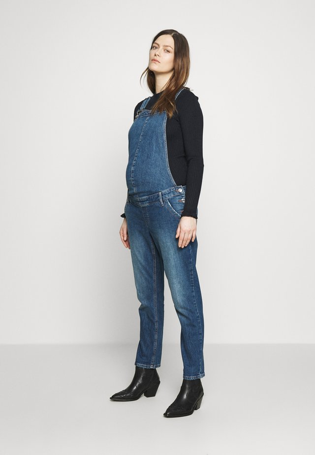 MATERNITY OVERALL  - Salopette - medium indigo