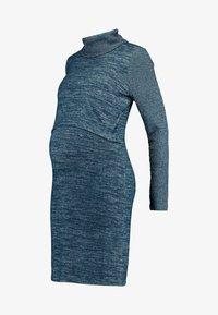 GAP Maternity - COZY NURSING DRESS - Stickad klänning - green pine - 5