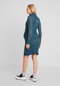 GAP Maternity - COZY NURSING DRESS - Stickad klänning - green pine - 3