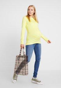 GAP Maternity - MODERN BOATNECK - Långärmad tröja - fresh yellow - 1