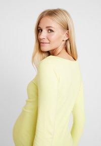 GAP Maternity - MODERN BOATNECK - Långärmad tröja - fresh yellow - 5