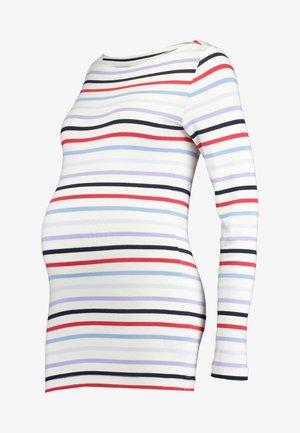 MODERN BOATNECK - Long sleeved top - multi-coloured