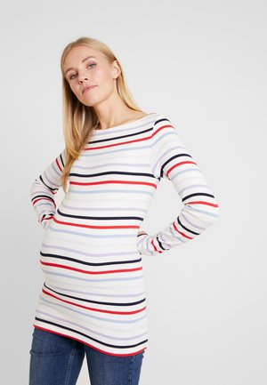 MODERN BOATNECK - Bluzka z długim rękawem - multi-coloured