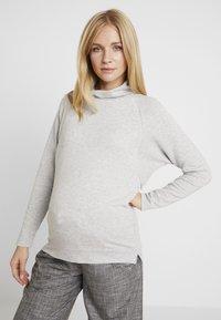 GAP Maternity - MOCK NURSING - Sweatshirt - light heather grey - 0