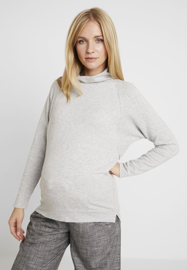 MOCK NURSING - Sweater - light heather grey