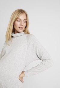 GAP Maternity - MOCK NURSING - Sweatshirt - light heather grey - 3