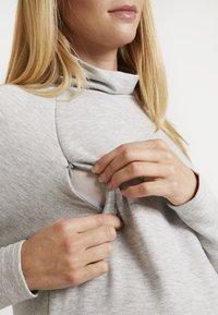 GAP Maternity - MOCK NURSING - Sweatshirt - light heather grey - 6