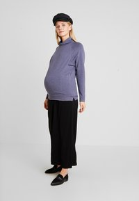 GAP Maternity - MOCK NURSING - Sweatshirt - navy heather - 1
