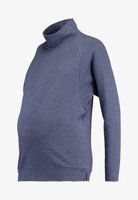 GAP Maternity - MOCK NURSING - Bluza - navy heather - 4