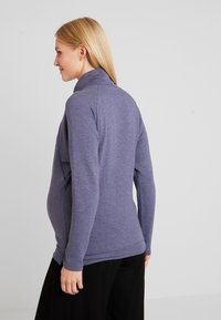 GAP Maternity - MOCK NURSING - Bluza - navy heather - 2