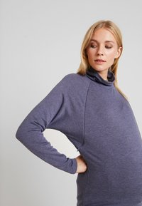 GAP Maternity - MOCK NURSING - Sweatshirt - navy heather - 3