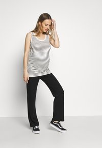 GAP Maternity - PURE TANK - Top - white/black - 1
