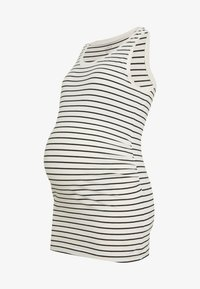 GAP Maternity - PURE TANK - Top - white/black - 3