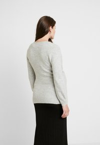 GAP Maternity - SIDE TIE WRAP - Kardigan - heather grey - 2