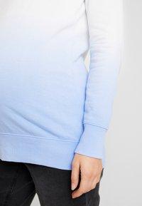 GAP Maternity - Bluza - blue dip dye - 5