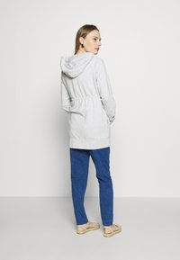 GAP Maternity - NEW ESSENTIAL BRUSHED ZIP HOODIE - Hettejakke - heather grey - 2