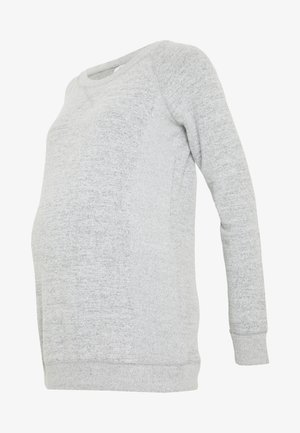 ZIP ACCESS NURSING - Jumper - light grey marle
