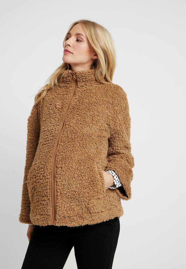 FULL ZIP - Winter jacket - camel