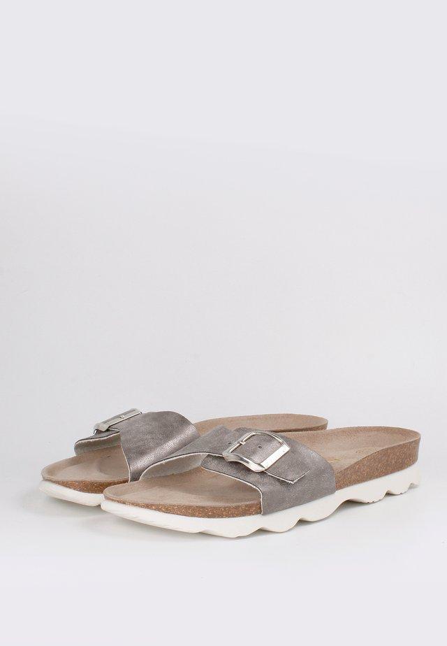 TORONTO POLAR ASSIACIO - Sandals - Grau