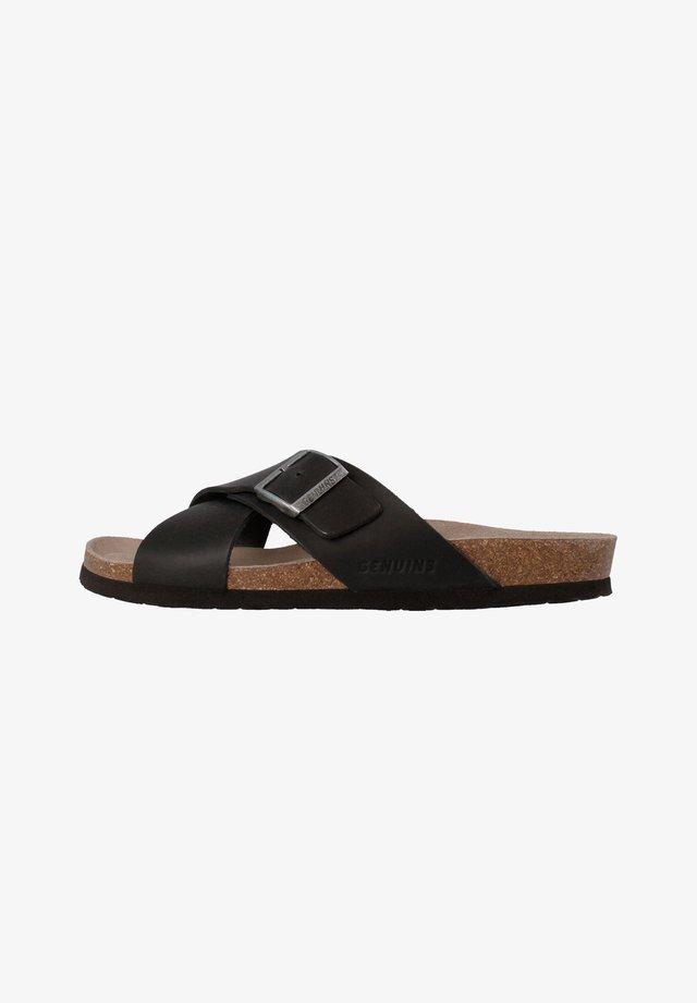 MANCHESTER - Sandalen - schwarz