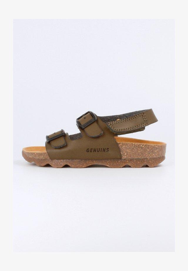 KINDU VACHETTA - Sandalen - khaki