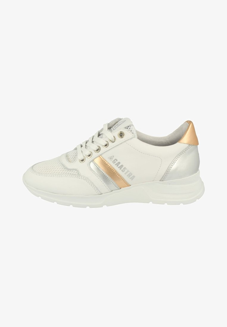 Gaastra - MEAGAN MET - Trainers - white/rose gold