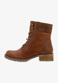 Gaastra - MARENA - Lace-up ankle boots - cognac - 0