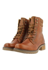 Gaastra - MARENA - Lace-up ankle boots - cognac - 1